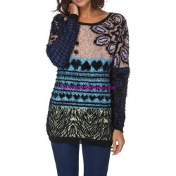 Sweater soft touch print 101 idées 6198W