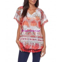 camiseta top verano marca 101 idees 330re