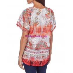 camiseta top verano marca 101 idees 330re comprar