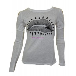 t-shirt camicette top invernali marca eden & orphee 1655BR
