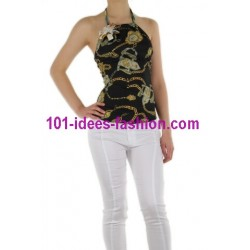 camiseta top verano marca 101 idees 8875
