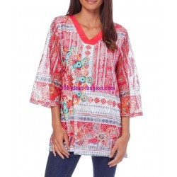 t-shirt top 101 idees 327RE estilo desigual