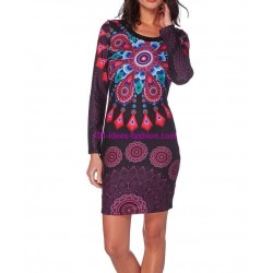 dress ethnic winter 101 idées 301LIN