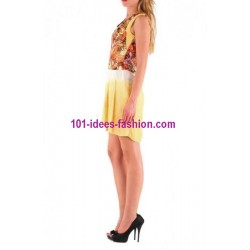 tunic dress summer brand 101 idées 001AM french fashion