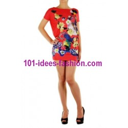 tunic dress summer brand 101 idées 8935 french fashion