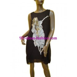 tunic dress summer brand v fashion 306C french fashion