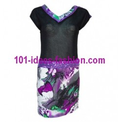tunic dress summer brand 101 idées 1695PR french fashion