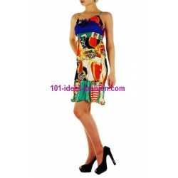 tunic dress summer brand 101 idées 8898 french fashion