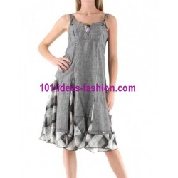 tunic dress summer brand c fait pour vous 848PR very cheap