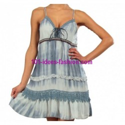 vestido tunica verao For Her 612050 100% rayon
