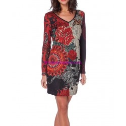shop dress tunic lace winter 101 idées 234W outlet