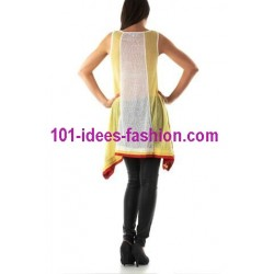 tunic dress summer brand rosa & rose 3470AM boutique clothing