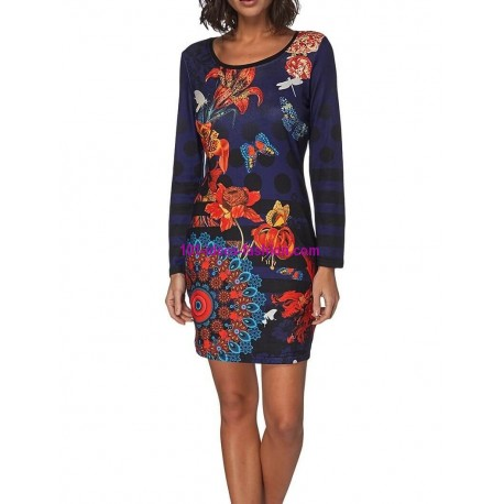0d5be3258 ROPA online Mujer outlet vestido tunica invierno 101 idées 005W moda