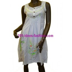 tunic dress summer brand funky fresh G071BR boutique clothing