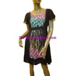 tunic dress summer brand v fashion 510A boutique clothing
