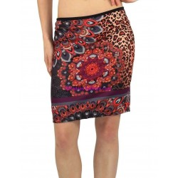 skirt print leopard winter 101 idees 243IN shop europe