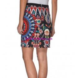 skirt print winter 101 idees 010W PLUS SIZE