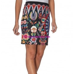 shop skirt print winter 101 idees 010W PLUS SIZE outlet