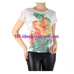 camiseta top verano marca 101 idees 751