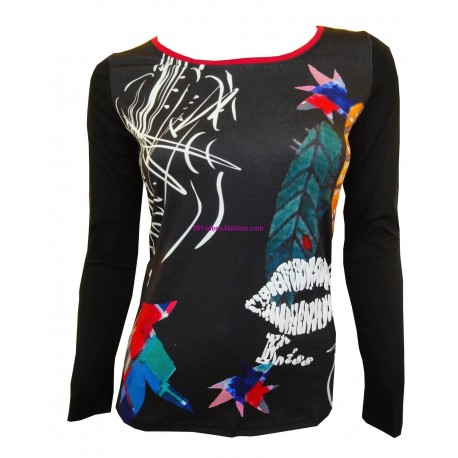 t-shirts tops chemises hiver marque 101 idees 8407 mode Tendance