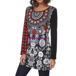 mini dress ethnic mandalas winter 101 idées 193W