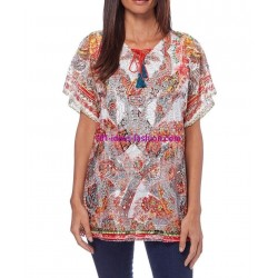 camiseta top verano marca 101 idees 357re
