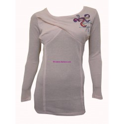 t-shirt camicette top invernali marca eden & orphee 1693RO