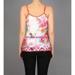 tshirt top 101 idees 351VRA boutique pas cher
