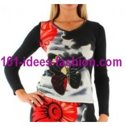 tops blusas camisetas invierno marca 101 idees 712