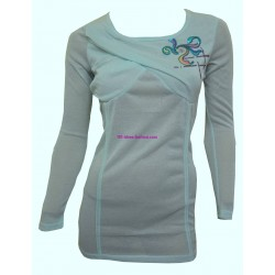 t-shirt camicette top invernali marca eden & orphee 1693VD