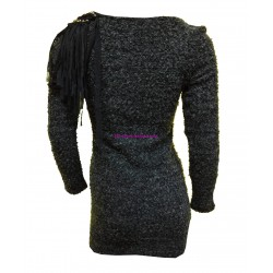 vestidos tunicas invierno marca 101 idees 614 outlet moda
