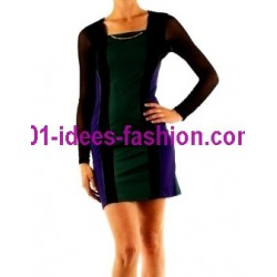 dresses tunics winter brand 101 idees 9004VRD