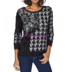 Sweater soft touch print 101 idées 8209W