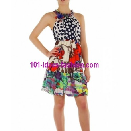 tunica vestito estivo marca 101 idees 8885 shopping online