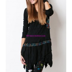 shop dresses tunics winter brand dy design 2079PR outlet