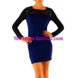 shop dresses tunics winter brand 101 idees 8999AZ outlet