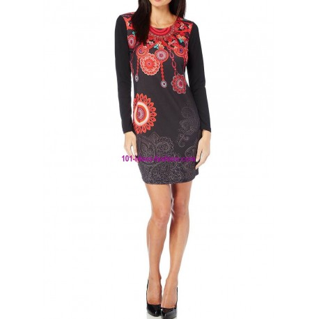 dresses tunics winter brand 101 idees 073 in very cheap