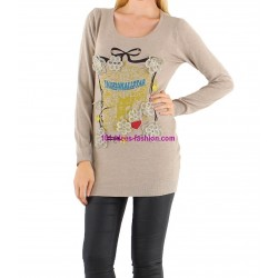 t-shirts tops chemises hiver marque CHERRY 135CA ethnique chic